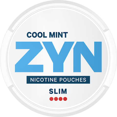 ZYN Slim Cool Mint All White Extra Strong