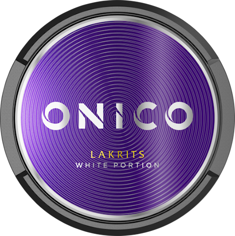 Onico Lakrits White Portion