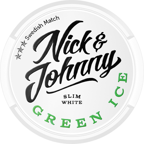 Nick & Johnny Green Ice White Slim
