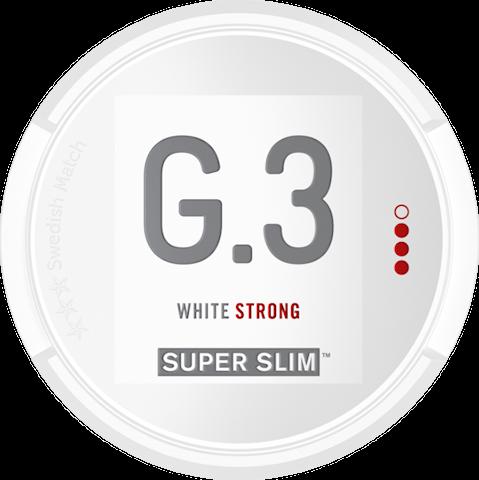 G.3 Super Slim White Portion Strong