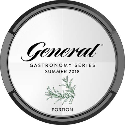 General Gastronomy Series Summer 2018 Portion