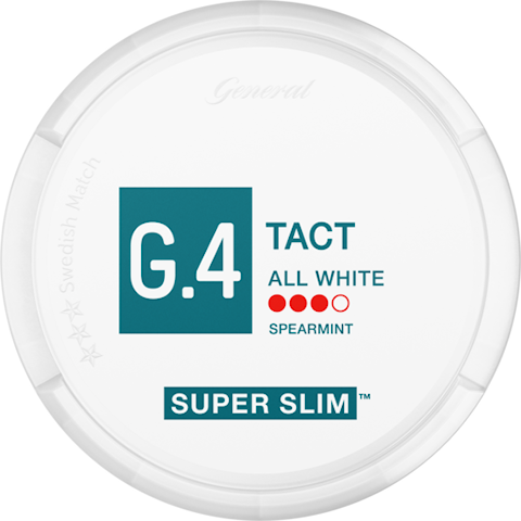 G.4 TACT Strong Super Slim All White