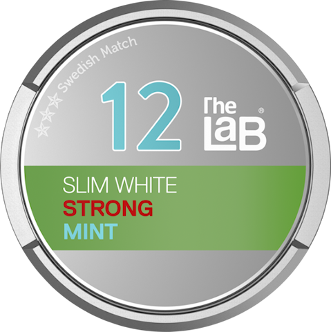 The Lab 12 Mint Slim White Portion Strong