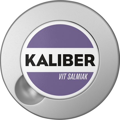 Kaliber Salmiak Vit Portion