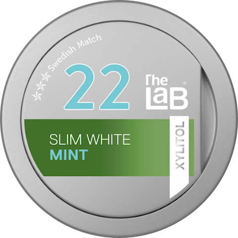 The Lab 22 Mint Xylitol Slim White Portion
