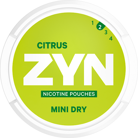 ZYN Mini Dry Citrus All White