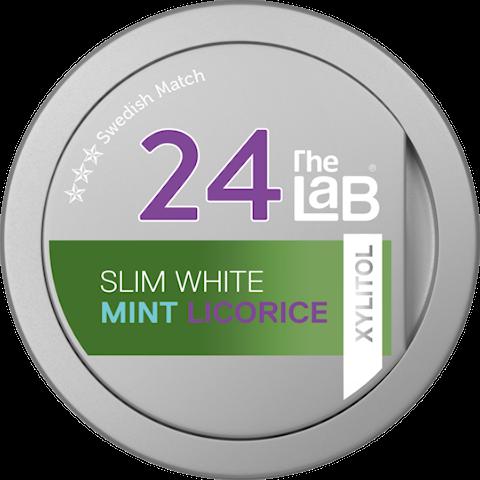 The Lab 24 Mint Licorice Slim White Portion