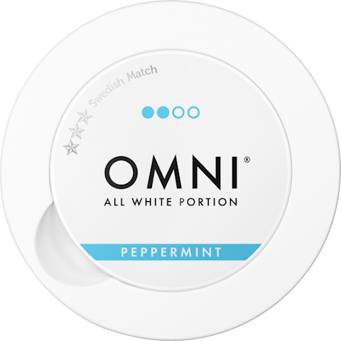 OMNI Peppermint All White Portion