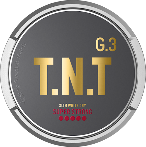 G.3 T.N.T Slim White Dry Super Strong