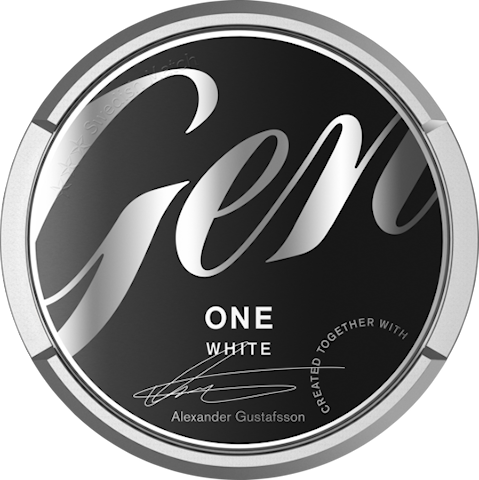 General ONE White Portion