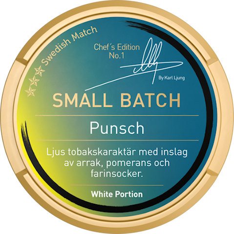 Small Batch White Portion