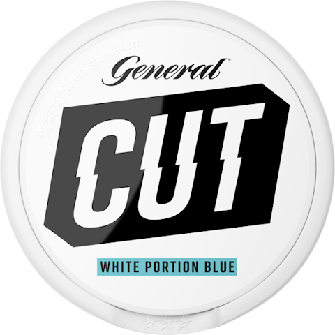 General CUT Blue Mint White Portion