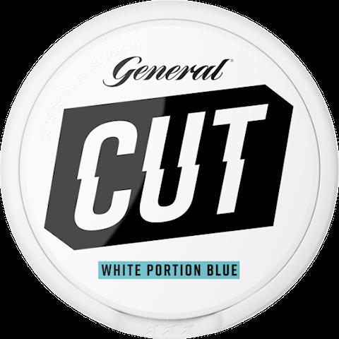 General CUT Blue Mint White Portion