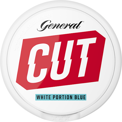 General CUT Blue Mint White Portion Extra Strong