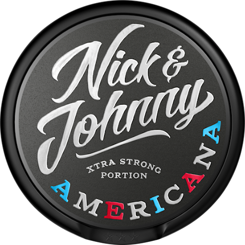 Nick & Johnny Americana Portion Extra Strong