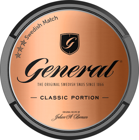 General Original Portion - Senaste produktionen
