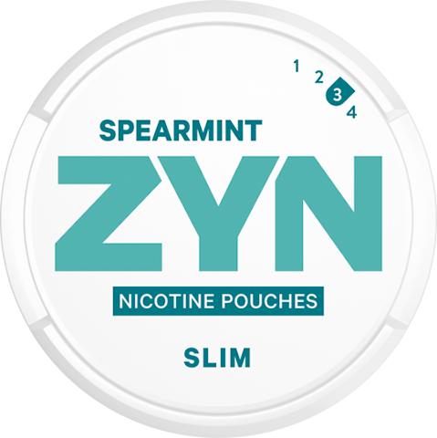 ZYN Slim Spearmint All White Strong