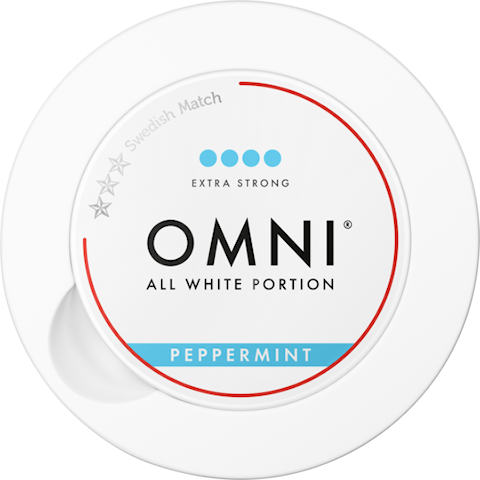 OMNI Peppermint All White Portion Extra Strong