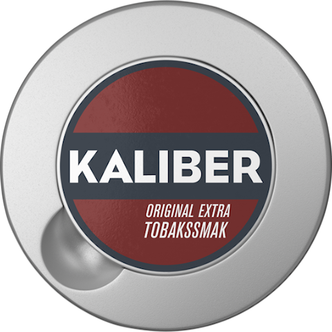 Kaliber Extra Tobakssmak Original Portion