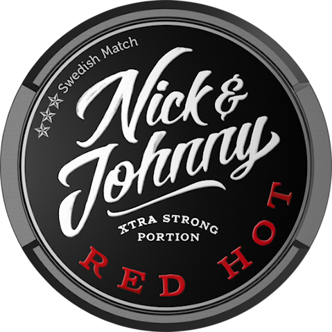 Nick & Johnny Red Hot Portion Extra Strong