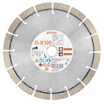 Stihl Diamantkapskiva universal, Ø 230 mm D-X100 till TSA 230, 08350927000