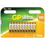 GP Ultra AAA Batteri, 9191015