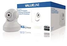 Valueline HD Pan-Tilt Kamera Inomhus 720P Vit, SVL-IPCAM10