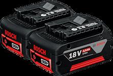 Bosch 18V-Li C&G 2x4,0Ah Batteriset, 1600Z00042
