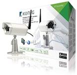 König HD Fast IP-kamera Utomhus 720P Metall, SAS-IPCAM116