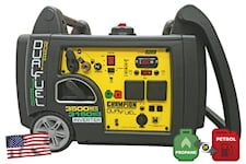 Champion 3100W Inverterelverk Bensin/Gas, 73001-i-DF-EU