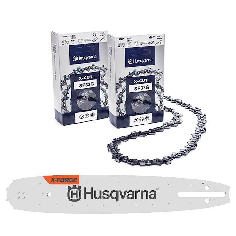 Husqvarna Svärd & kedjepaket X-Cut 18'' 1.3mm .325 72dl, svardspaket-18-xcut
