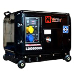 Warrior 5000W tystgående Dieselelverk, LDG6000S-EU