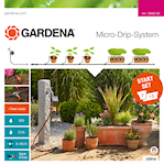 Gardena Micro-Drip System Startpaket M med bevattningsdator, 13002-20