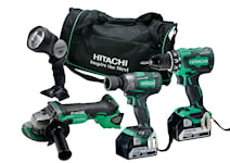 Hitachi Verktygspaket 3 maskiner 18v 5Ah, 60000521