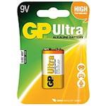 GP Ultra 9V Batteri, 9191030