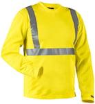 Blåkläder 3383 UV-skyddad varsel-T-shirt med lång ärm,
