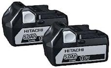 Hitachi Batteripaket 18v 5,0 Ah, 60020007