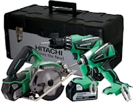 Hitachi Snickarpaket 3 maskiner 18V, 60000510