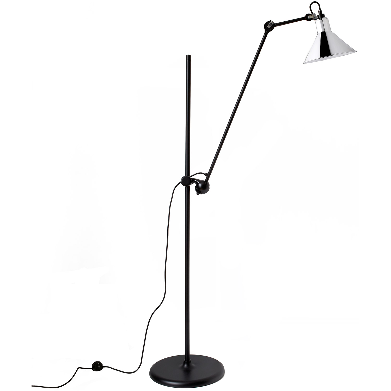 Bilde av La Lampe Gras-N°215 Gulvlampe, Svart/Krom