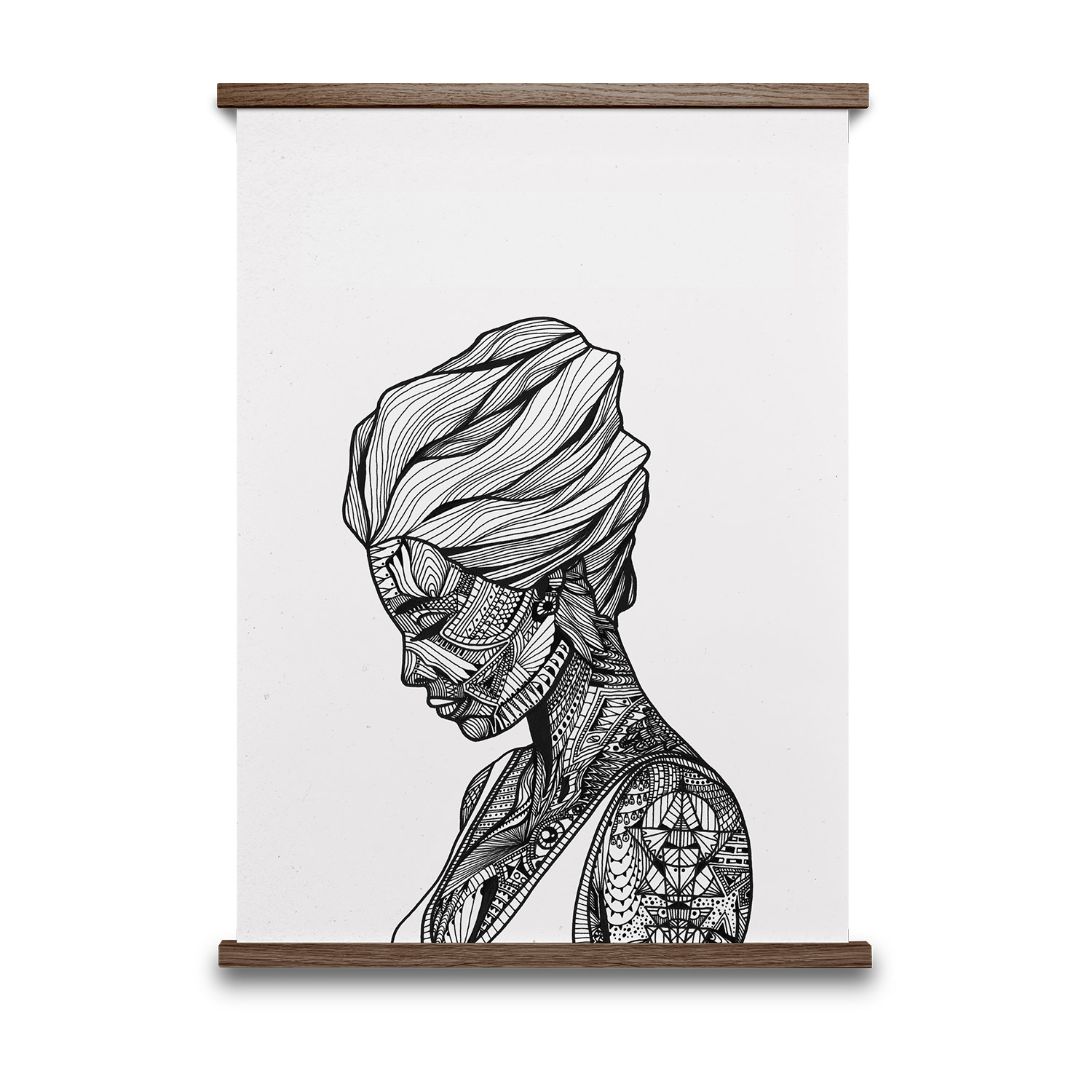 Reflection Poster 50x70 cm