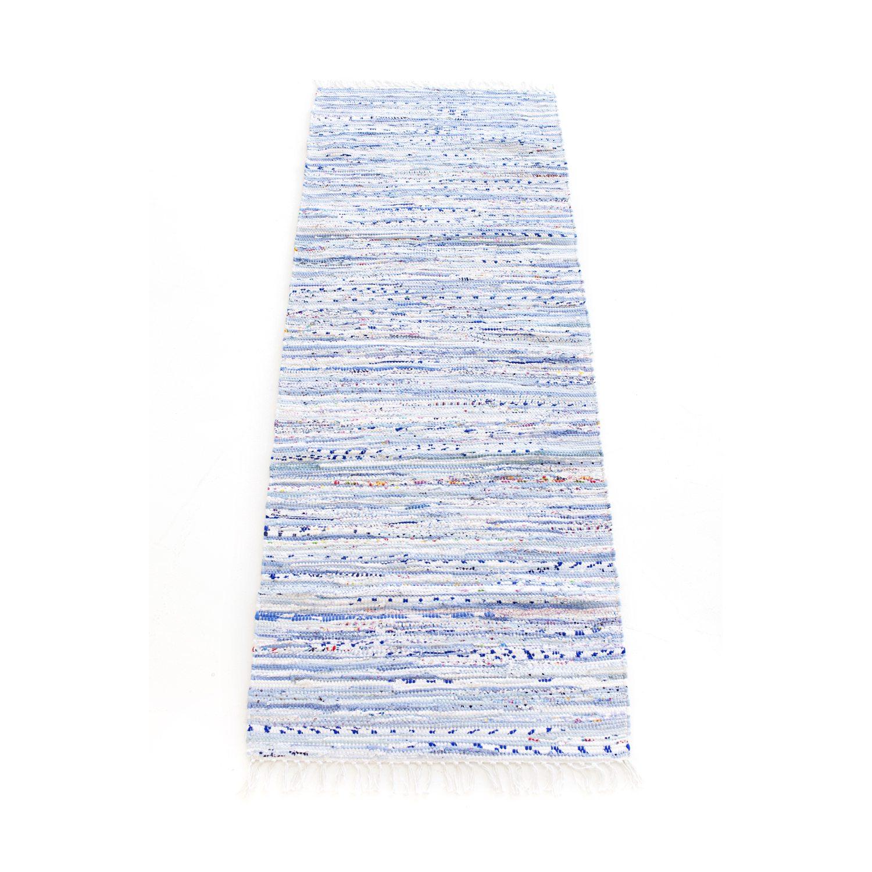 Bilde av Rug Solid-Cotton Teppe Blåmix, 60X90