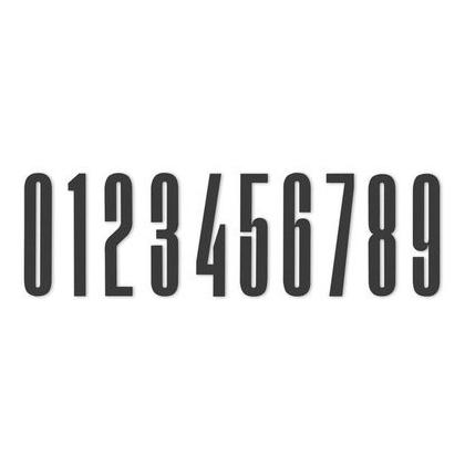 Design Letters, Nummer I Akryl, 4