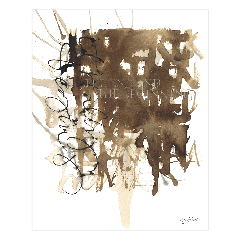 Bilde av Ylva Skarp-End & Beginning Poster 40x50 cm