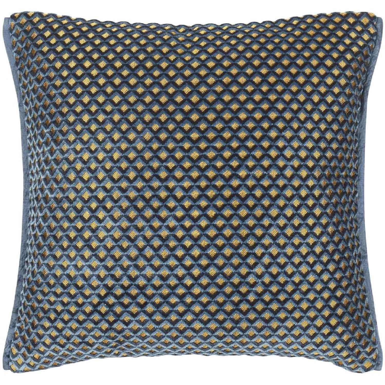 Portland Delft Cushion 43x43 cm, Designers Guild