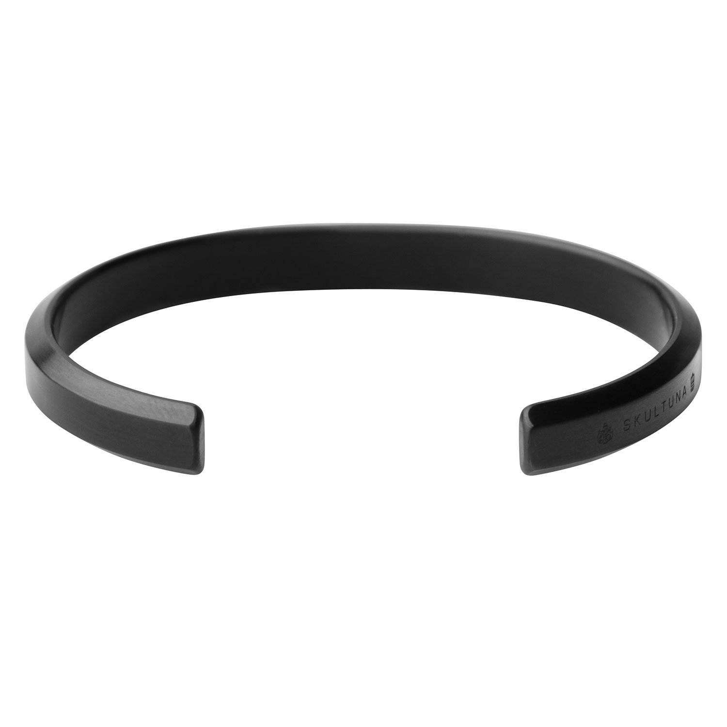 Icon Armband Matte Black Titanium Look, 54 mm