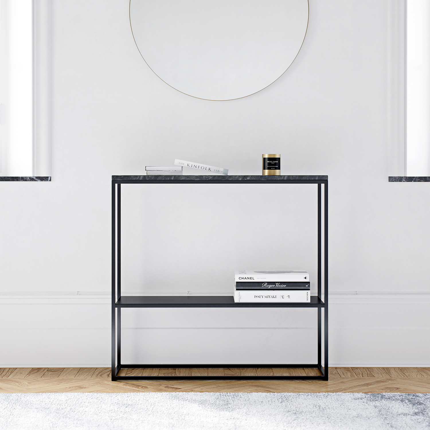 Marvelous Sideboard 90x80 cm, Marmor Decotique @ RoyalDesign