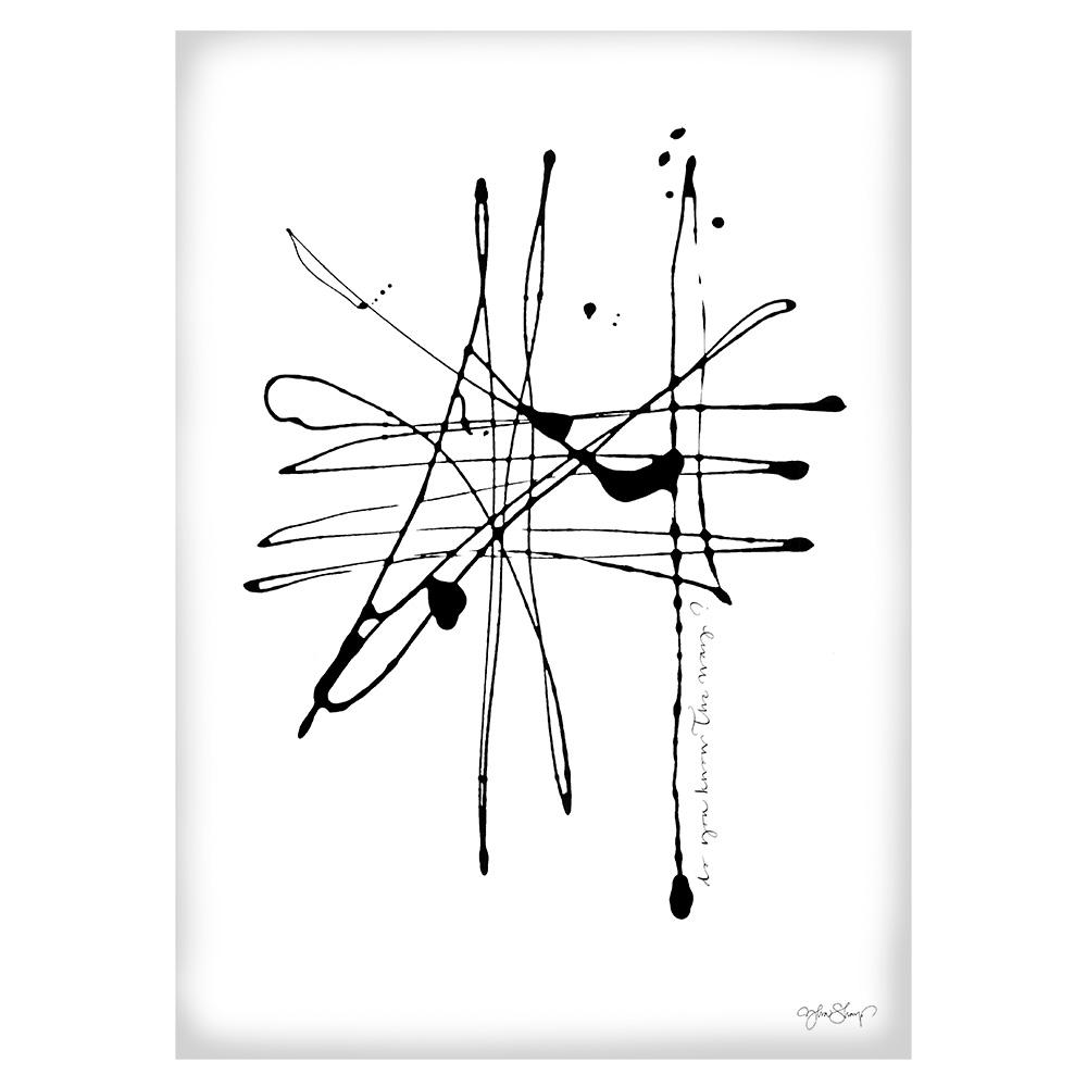 Bilde av Ylva Skarp-The Way Poster 50x70 cm