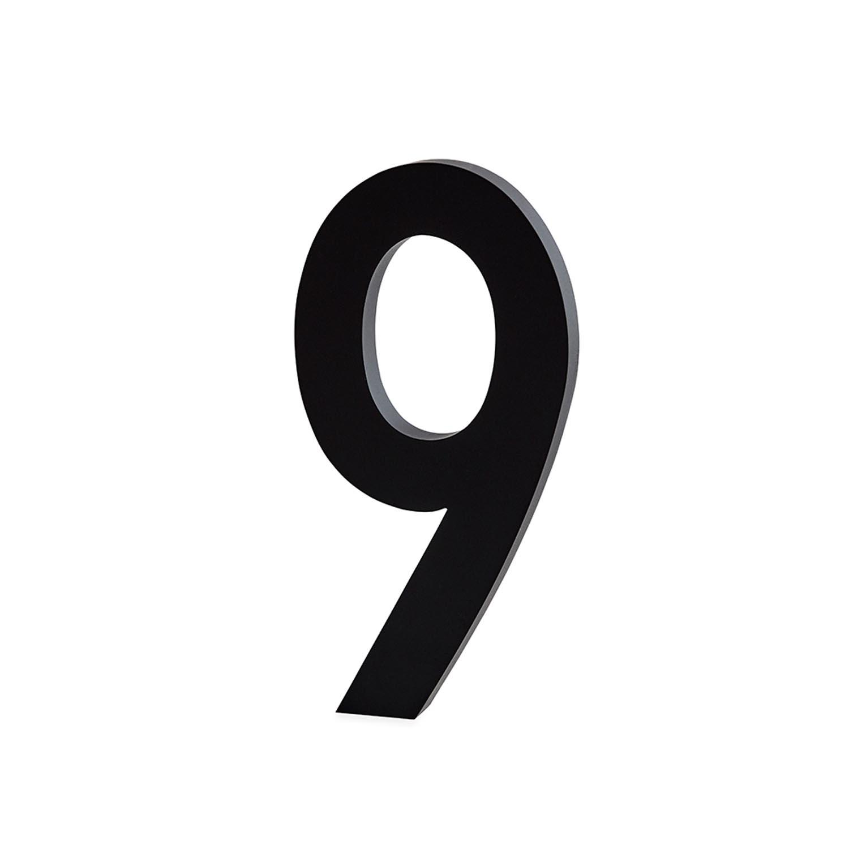 Design Letters, Nummer I Aluminium 100mm, 9