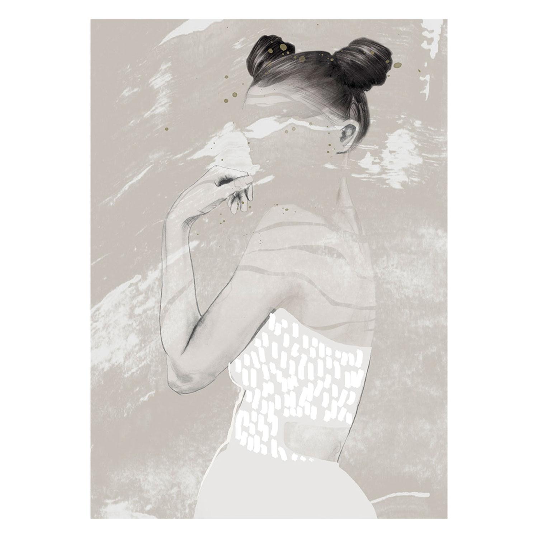 Bilde av Anna Bülow-See Through Poster 30x40cm