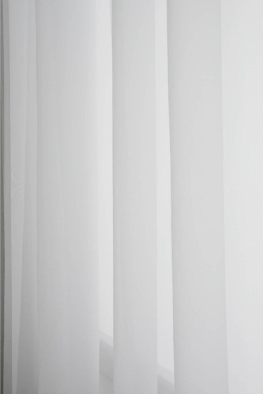 Skir Hotellgardin 290x250 cm, Vit